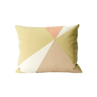Prism Cushion, Sand, nut, abricot,