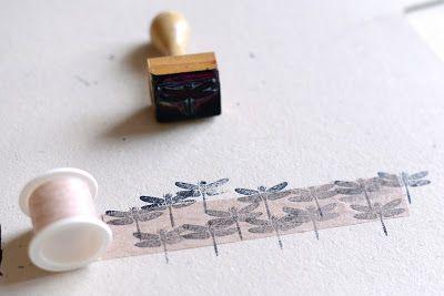 Homemade Washi tape * micropore  *  Washi Tape caseira * micropore