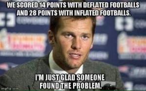 The Best New England Patriots #DeflateGate Memes: The Best DeflateGate Memes