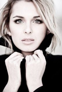 Kirsten Prout. I absolutely love her eyes in this picture.