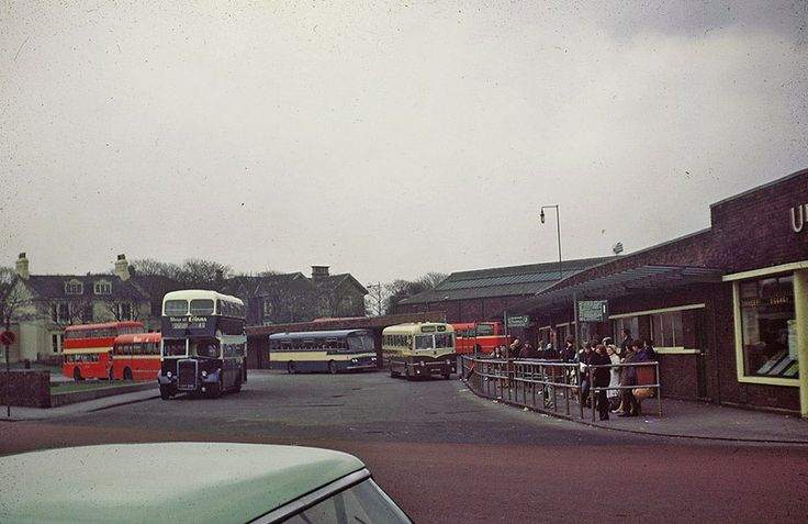 United Bus Station Late 60s Probably