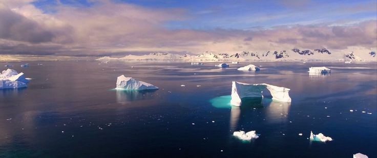 Drone footage from the harshest place on earth will take your breath away