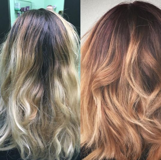 What Hair Toner Is Right For Copper Hair Red Hair Color