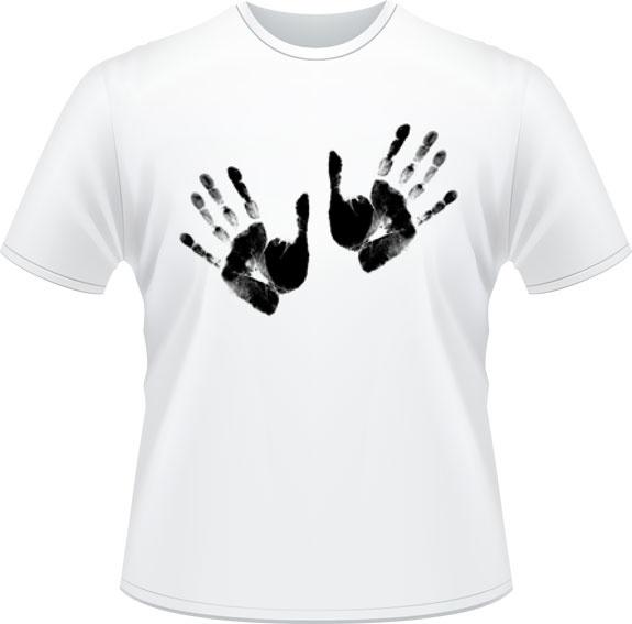 Les mains - Don de Rouge, T-shirts pour la cause du 24h de Tremblant - 25$