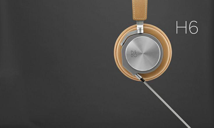 H6 headphones Bang and Olufsen