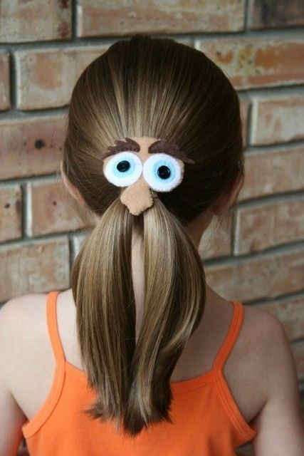 Mr. Mustache Man Felt Hair Clip $8.00..  Blake, she MUST have one!  Because one day she'll be here and need something cute in her ponytail!!!