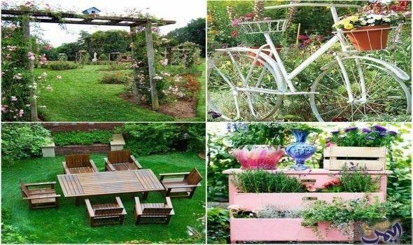 اجعل حديقة منزلك Outdoor Garden Arch Outdoor Structures