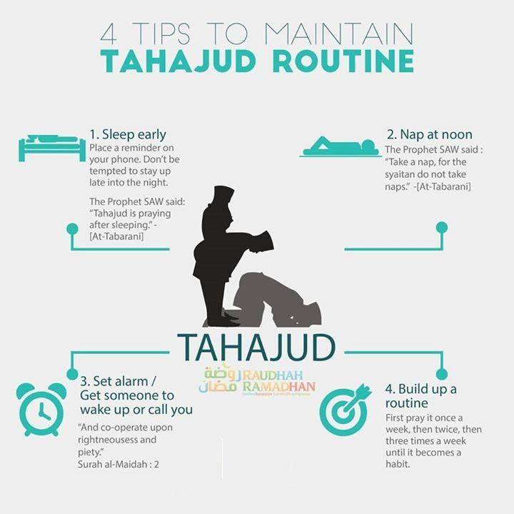 4 Tips To Maintain Tahajud Routine