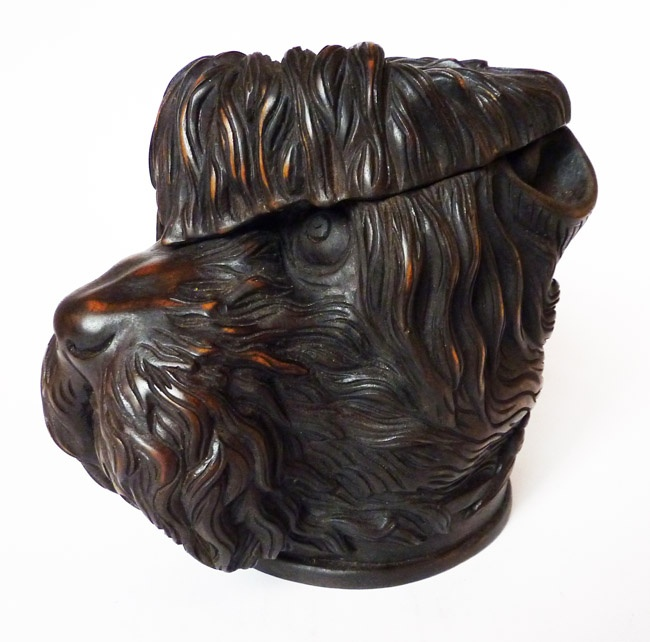 Black Forest Terrier Tobacco Jar