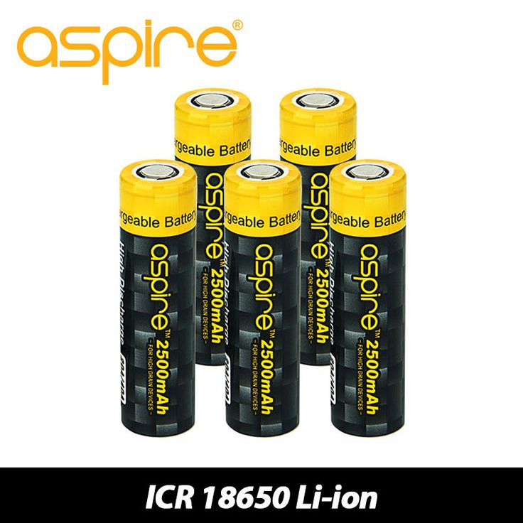 >> Click to Buy << 100% Original Aspire 2600mAh ICR18650 Electronic Cig Battery 3.7V Li-ion Rechargeable Battery 18650 Cell Hybrid IMR Battery Vape #Affiliate