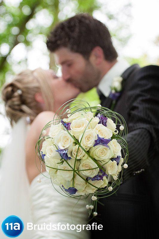 Bruidsreportage Close-up Boeket | Portfolio Bruidsreportage | 11A Bruidsfotografie | Den Bosch