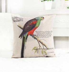 Perna decorativa Colorful Parrot