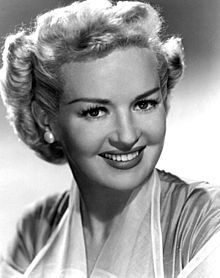 Betty Grable (born Elizabeth Ruth Grable; December 18, 1916 – July 2, 1973) was an American actress, dancer, and singer and popular contract star for 20th Century-Fox during the 1940s and 1950s.