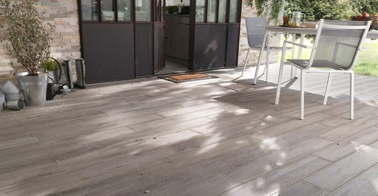 10 images about terrasse carrelage on pinterest zen - Carrelage imitation bois castorama ...