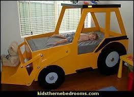 Image result for toddler construction bed