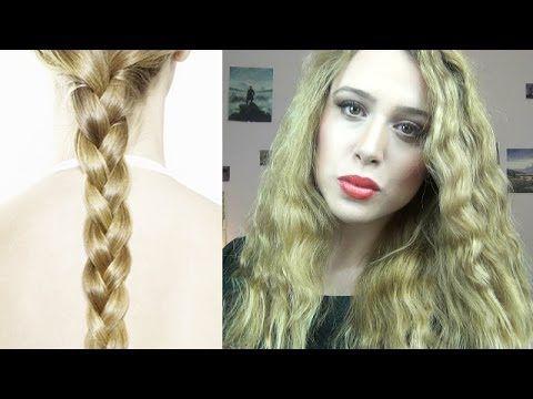 Come ottenere capelli mossi e DEFINITI senza FERRO-Tutorial metodo delle...
