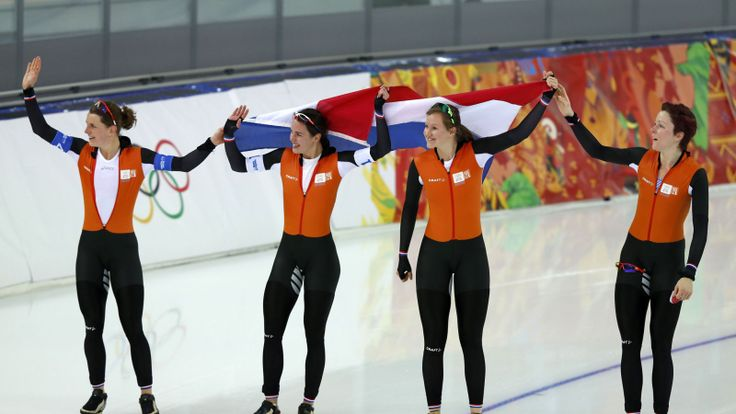 2014 Winter Olympics, Dutch Women Speed Skaters