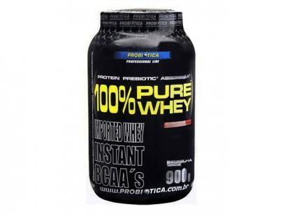 Whey Protein 100% Pure Whey Baunilha 900g - Probiótica c/ BCAA com as melhores condições você encontra no Magazine Bitstore. Confira!