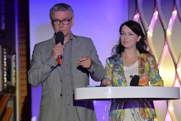 Katarzyna Pakosińska i Artur Orzech poprowadzą koncert SuperJedynki 2013 (fot. Ireneusz Sobieszczuk/TVP)