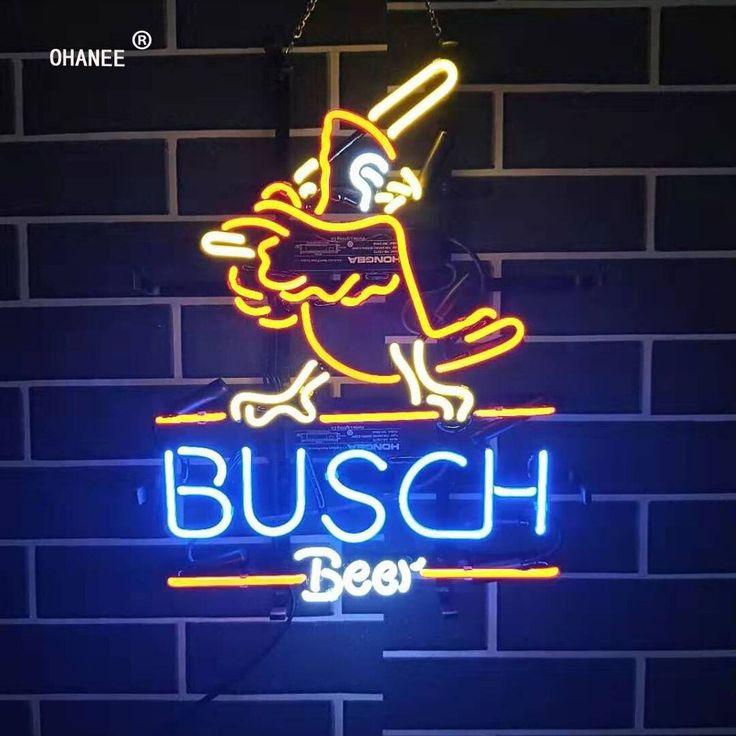 Custom for Busch Beer Bar Busch Light Deer Neon Sign Light
