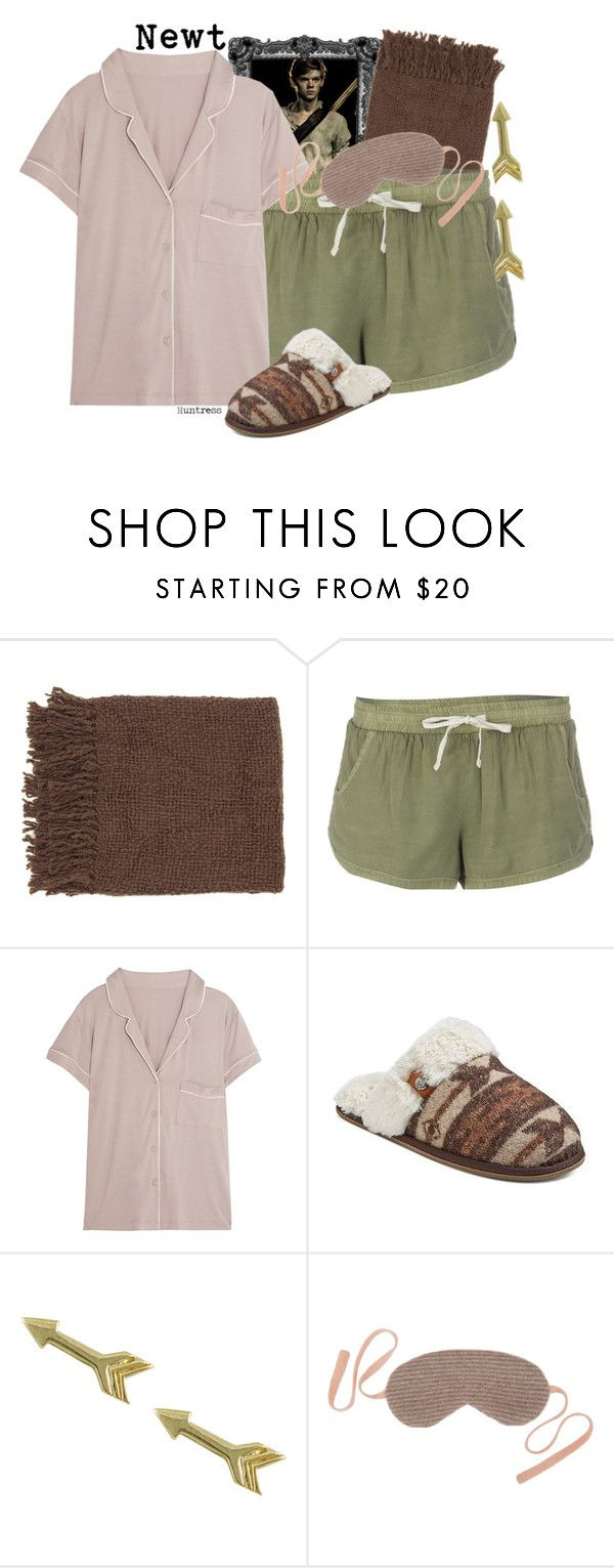 """""""Newt (Requested Bound) >>Huntress"""" by thefandomnetwork ❤ liked on Polyvore featuring Paul Brodie, Billabong, Calvin Klein Underwear, Mad Love, Jewel Exclusive, Row Pinto and birdsofprey"""