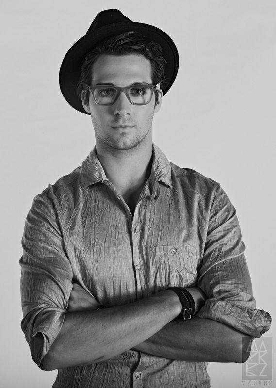 James Maslow + Nerd glasses + hat + tough guy stance = SEXY!!!