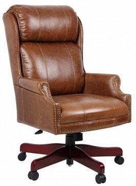 Кресло руководителя - с высокой спинкой, с мягким сиденьем, с подлокотниками, с механизмом регулировки высоты (80мм газовый лифт) и наклона (Butterfly) кресла, ножки на роликах