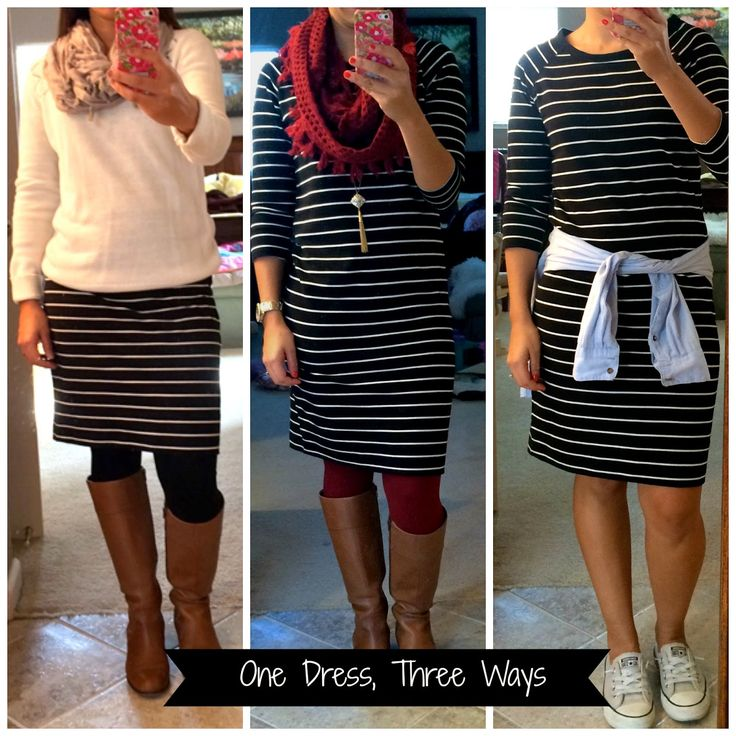 Everyone needs a striped dress! This one from Target can be worn almost year-round!