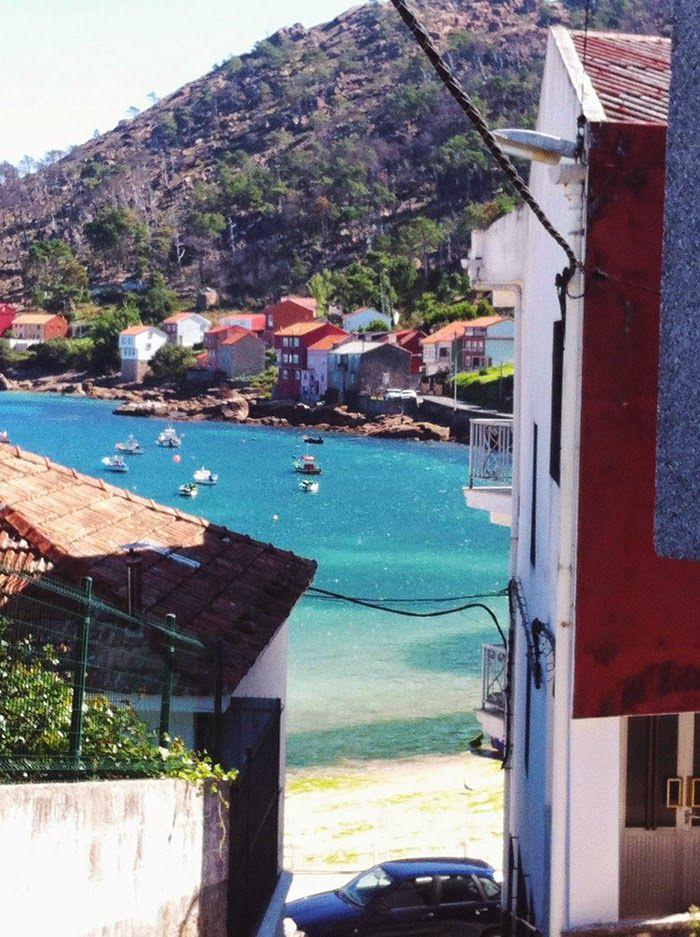 fisherman's town in Galicia, Spain