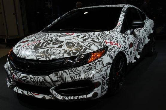 Modified 2014 Honda Civic Coupes Hit 2013 SEMA Show - Motor Trend WOT