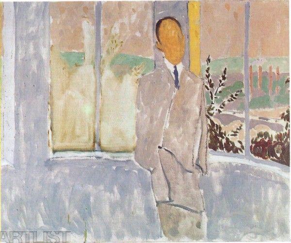 Bartovský Václav - Muž u okna (Jan Hanč)