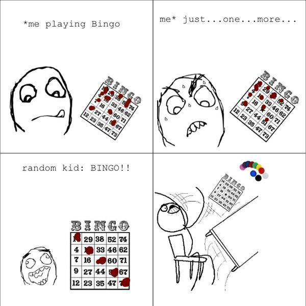 hilarious bingo memes | Like Rage Comics? Download our free app now!