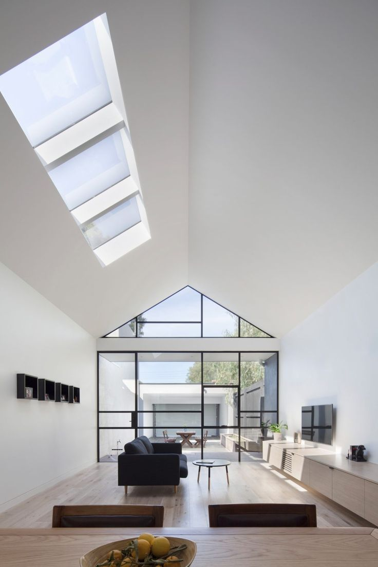 Modern conservatory design ideas - Modern Single Family House Located In Melbourne Australia Designed In 2015 By Dx Architects