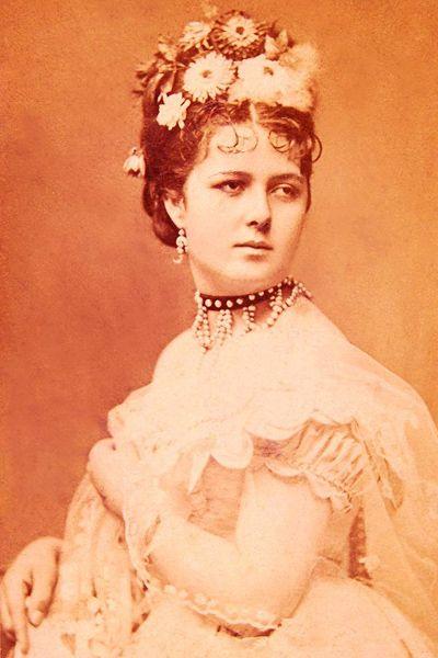 Lujza Blaha, hungarian actress