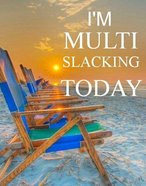 I'm Multi slacking today! I love this!