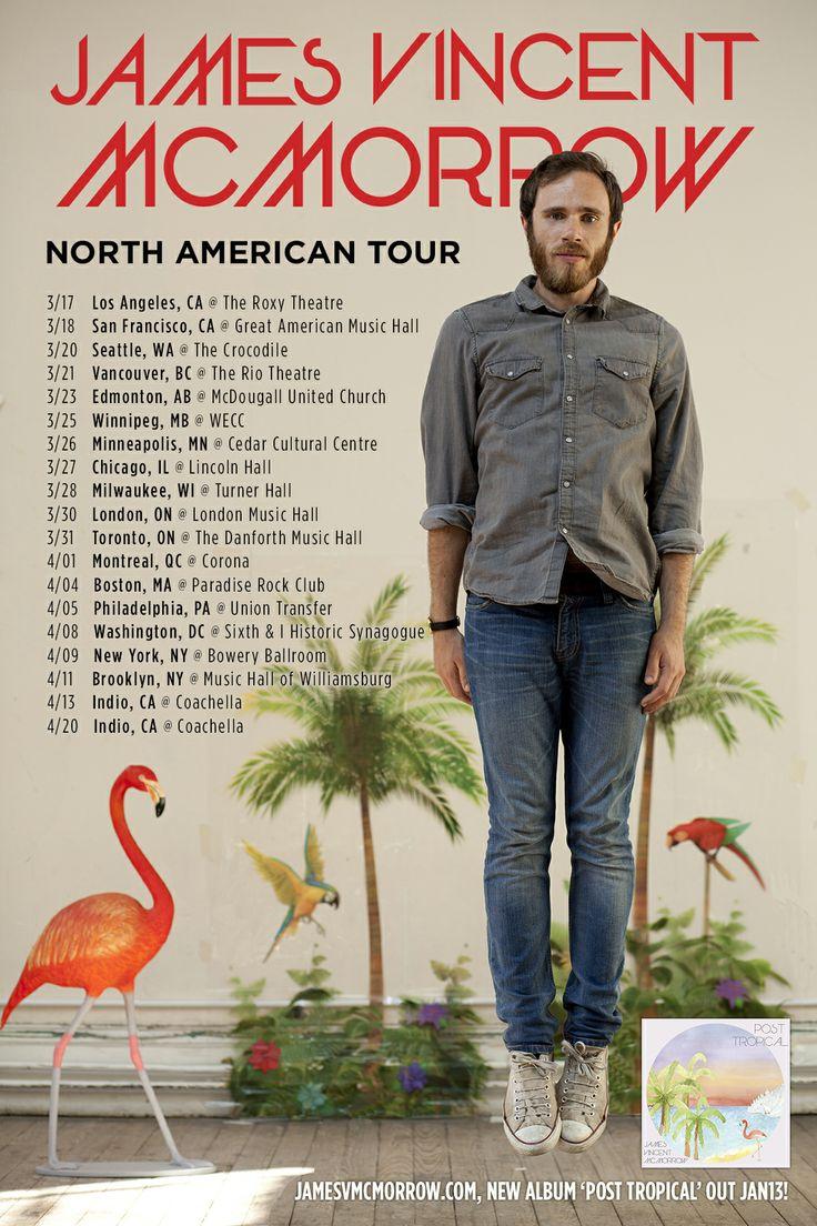 James Vincent McMorrow - North American Tour