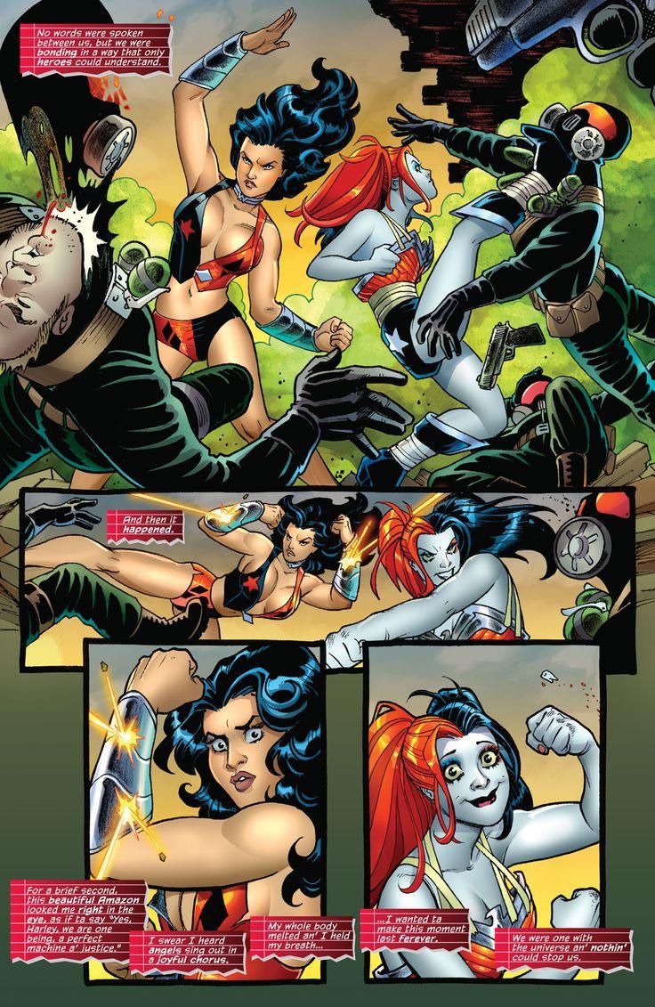 Harley's Lil Black Book #1 Harley Quinn & Wonder Woman