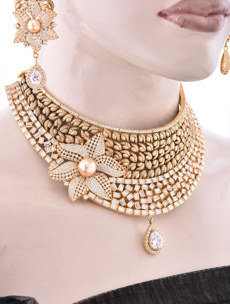 Choker Jewellery Set with Antique Finish