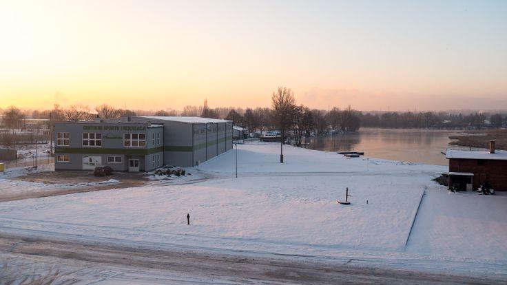 #Winter #sunrise in #Bydgoszcz #Poland