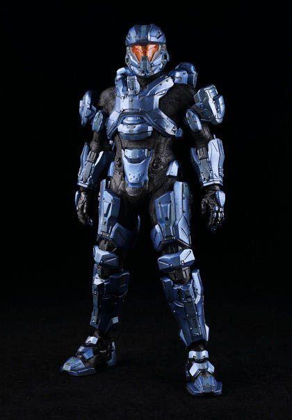 Figura Spartan Gabriel Thorne 34 cm. Escala 1/6. Halo. ThreeA Toys Si eres fan del videojuego Halo no te pierdas esta estupenda figura articulada del supersoldado Spartan Gabriel Thorne de 34 cm, con luz, de PVC, 100% oficial y licenciada. Imprescindible para tu colección.