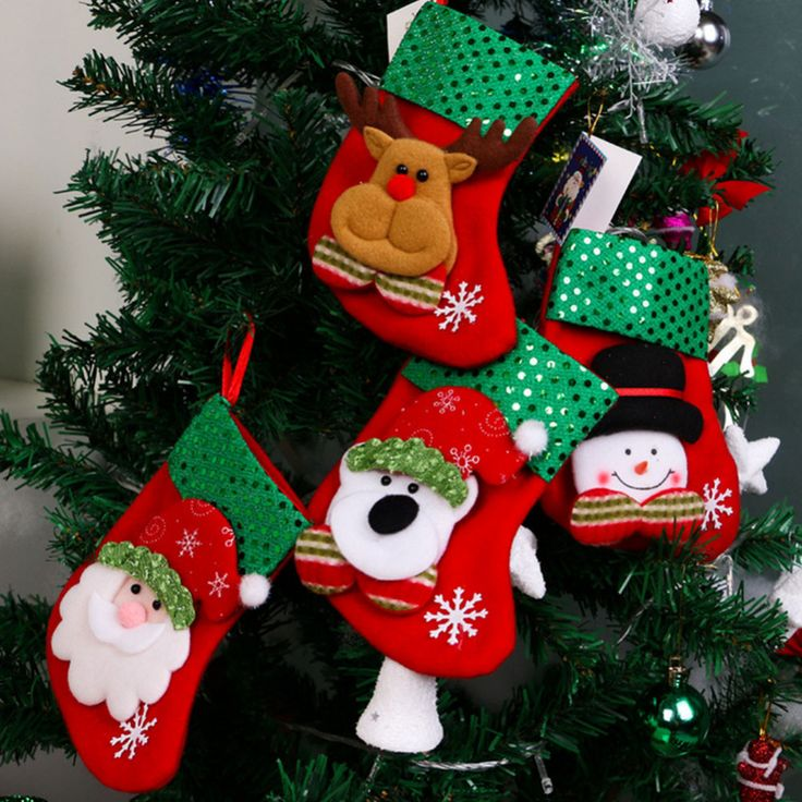 2016 New Christmas Decoration Socks Snowman Christmas Gifts Elderly Bear Deer for Christmas Tree #clothing,#shoes,#jewelry,#women,#men,#hats,#watches,#belts,#fashion,#style