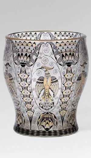 Artist: Alfred Walter (1873–1915) Title: Vase , ca. 1914 Steinschoenau