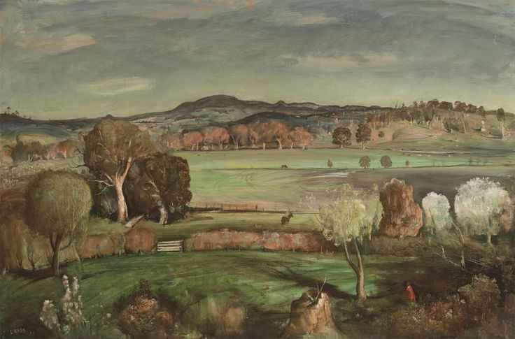 Near Orange 1952 - Lloyd Rees