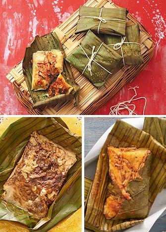 Recetas de tamales con hoja de plátano. Aprende a preparar deliciosos tamales con estas exquisitas recetas, oaxaqueños, veracruzanos y más.