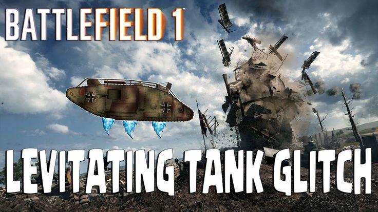 LEVITATING TANK GLITCH in Battlefield 1