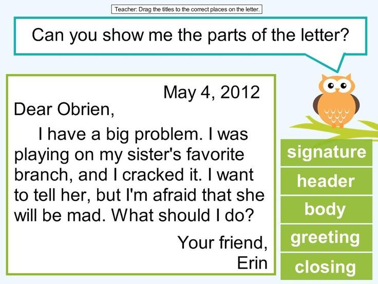 Grade 2 Friendly Letter Writing Worksheets