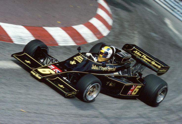 Gunnar Nilsson (John Player Team Lotus), Lotus 77 - Ford-Cosworth DFV 3.0 V8, 1976 Monaco Grand Prix, Circuit de Monaco