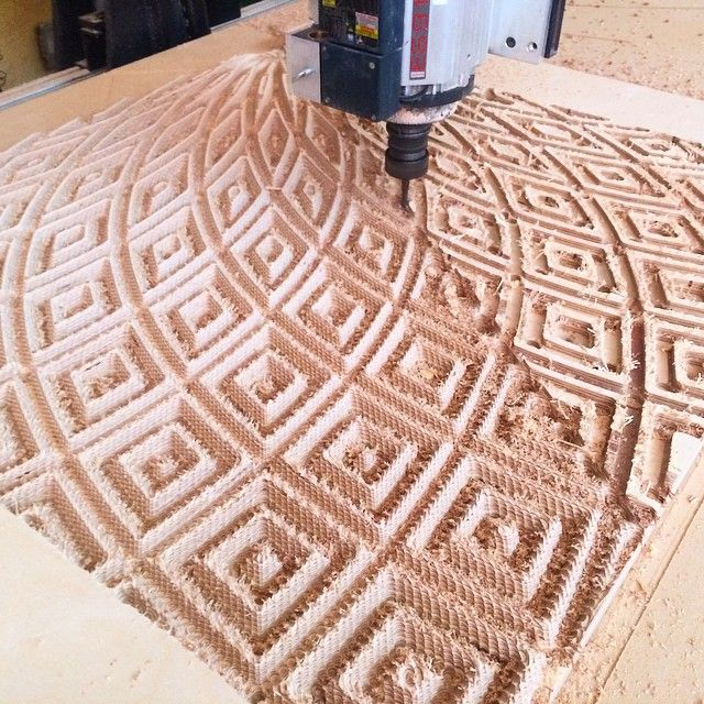 Michael Anderson CNC Carved Plywood 10
