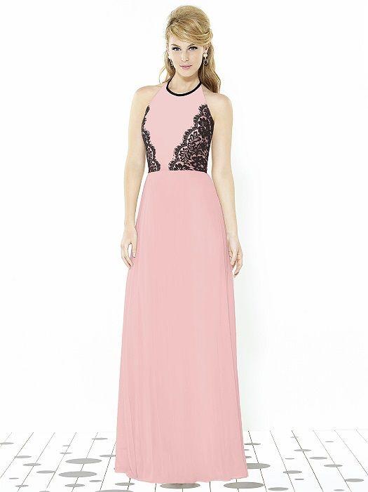 Pink Bridesmaids - After Six Bridesmaids Style 6721