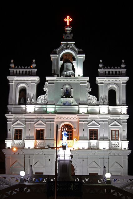 The Church of Our Lady of Immaculate Conception, Goa, India